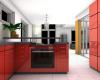 cozinhas monocromáticas