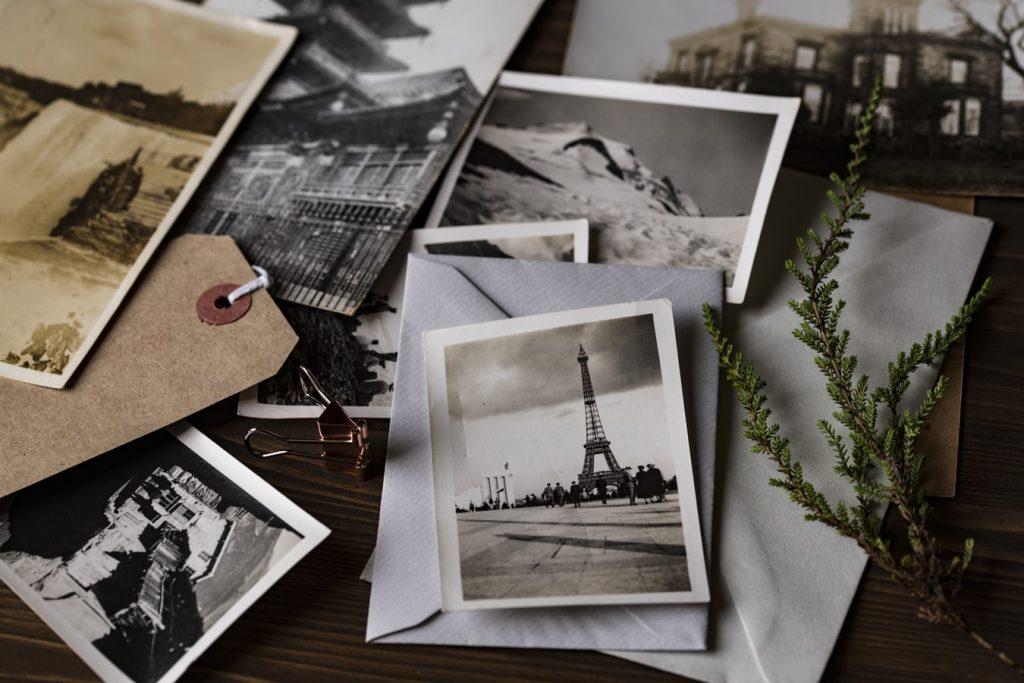 decorar com fotografias