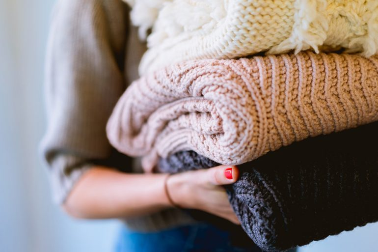 arrumar roupas